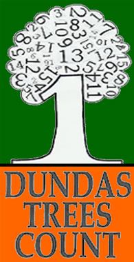 Dundas Trees Count logo